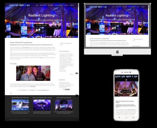 Website Example Boston Events